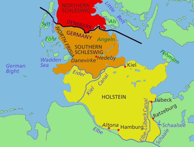 The Danish War Schleswig Holstein Question Sutori