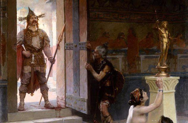 390 BC Sack of Rome The Senones, a Gallic tribe... | Sutori
