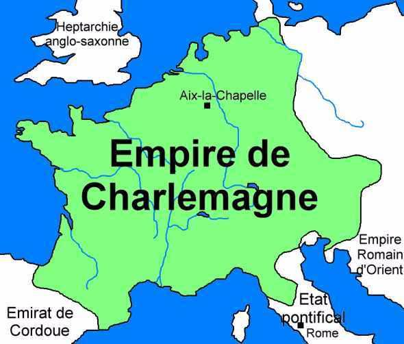 Charlemagne was named Emperor of the Romans in 800.... | Sutori on attila the hun empire map, olmec empire map, pope leo iii, clovis i, great zimbabwe empire map, holy roman emperor, carolingian empire, china empire map, william the conqueror, ottoman empire on map, johannes gutenberg, greece empire map, holy roman empire, frankish empire map, treaty of verdun, shaka zulu empire map, funan empire map, merovingian dynasty, augustine of hippo, louis xiv of france, austria hungary empire map, spartan empire map, ancient rome empire map, charles v, holy roman emperor, ancient persia empire map, battle of tours, carolingian dynasty, viking empire map, 9th century europe map, roman empire outline map, the kingdom of franks map, justinian i, napoleon bonaparte empire map, frank's map, louis the pious, alexander's empire map, charles martel,