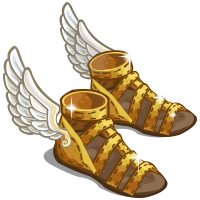 603ae0609 Special Weapons- Perseus was given winged sandals