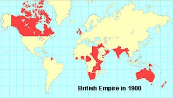 British Empire Map 1900.Looking At This Map Of The British Empire In 1900 Sutori