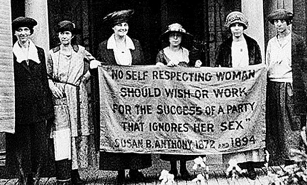 No self respecting woman should wish or work for... | Sutori