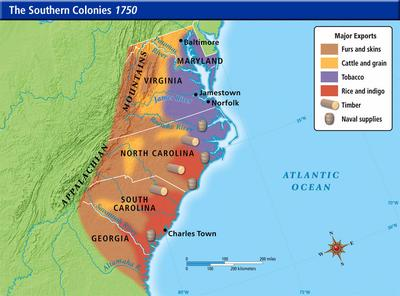 Period 3: 1754-1800 Environment and Geography    | Sutori