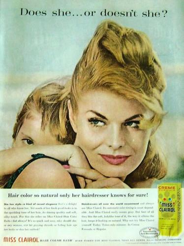 """Miss Clairol's """"Does She... Or Doesn't She?"""" 