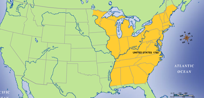 Timeline of Westward Expansion of the United States | Sutori