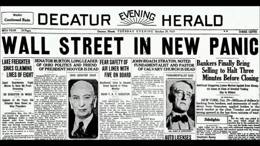 The Great Depression | Sutori