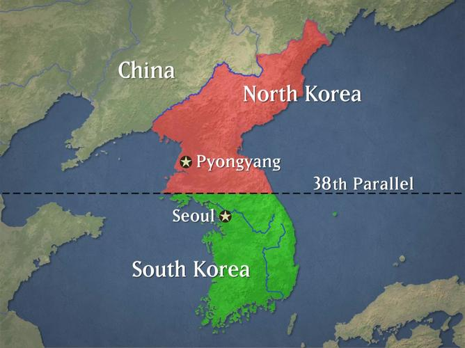 38th Parallel Created, Korea is divided - August... | Sutori