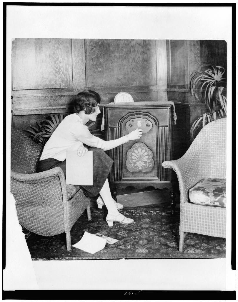 The Radio Of The 1920s Sutori