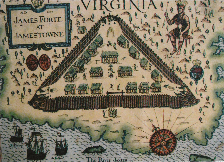 Jamestown, virginia 1607 | Sutori
