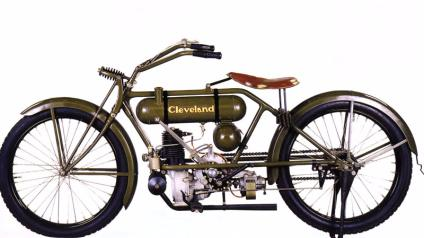 This Motorcycle Produced By Waltham Manufacturing Company Was Very Important To The Evolution Line Because It First M