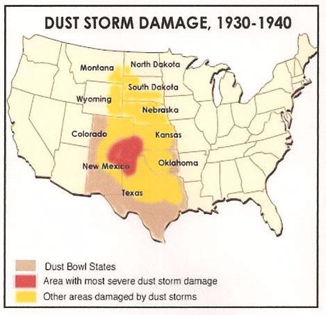 From Drought to Dust | Sutori on