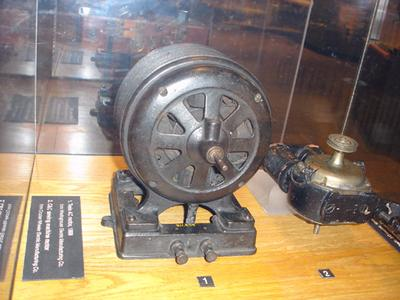 This Model Of The Ac Induction Motor Is From 1888 Was Patented By Westinghouse Electric Manufacturing Co And Created Nikola Tesla