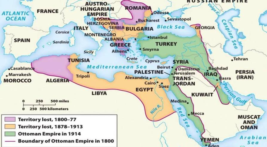 Ottoman Empire Decline Timeline | Sutori