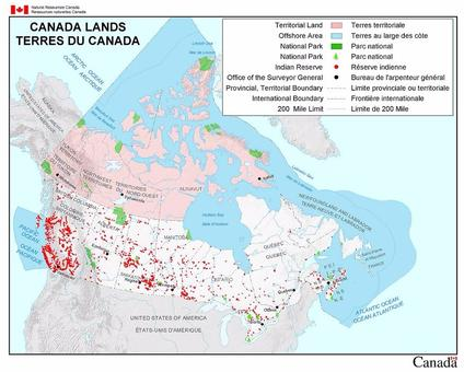Indian Reserves In Canada Map Important Aboriginal Events in Canada | Sutori