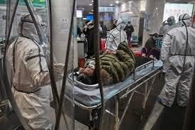 Patient in Wuhan, AFP via Getty Images