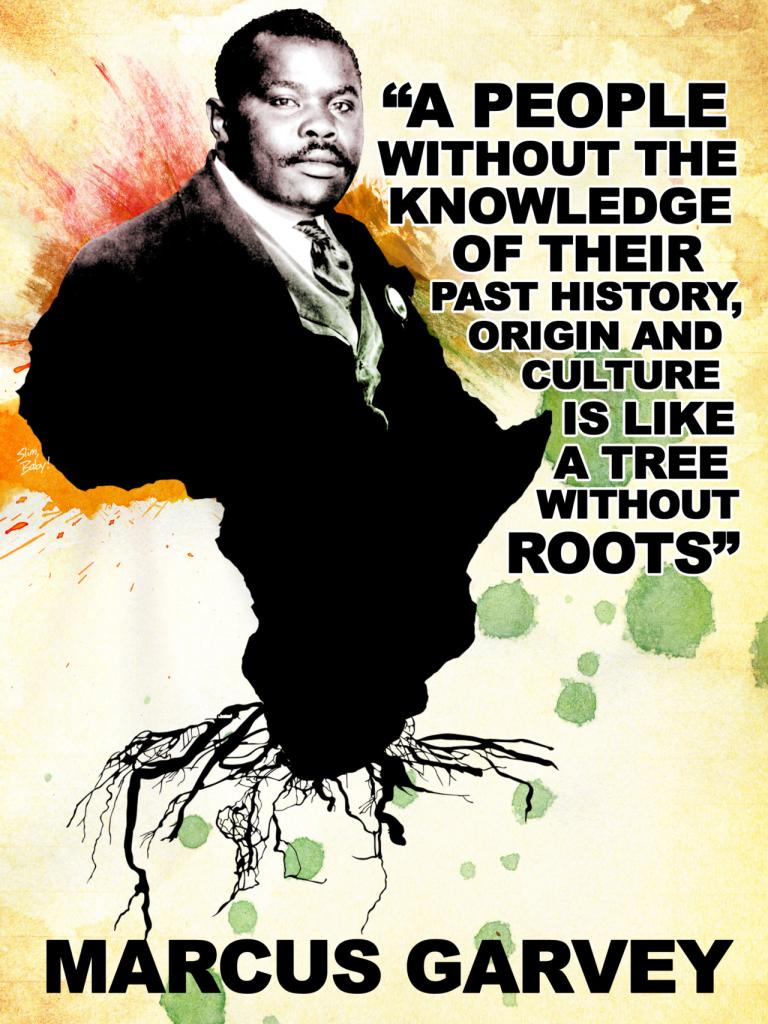 Marcus Garvey begins back to Africa movement 1920 ... | Sutori