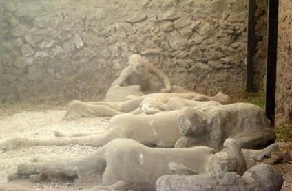 Copy of Pompeii 79 A D --The Dog of pompeii | Sutori