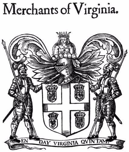 A picture of the Virginia Company logo | Sutori