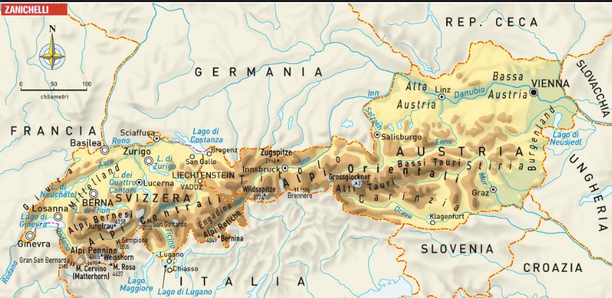 Cartina Fisica Austria.Austria Arriviamo Sutori