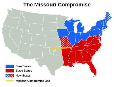 Road Map to the Civil War | Sutori