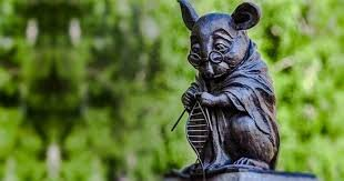 """""""The Monument to the Laboratory Mouse."""" Novosibirsk, Siberia, Russia. (Science's Sacrifices.)"""