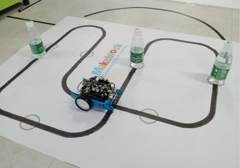 2-in-1 MBot: Line Follower and Object Avoidance | Sutori