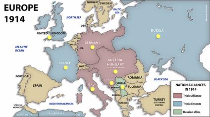 I Maailmansota 1914 1918 Sutori