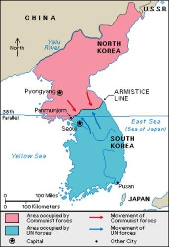 Korea War And Vietnam War Timeline 1945 1975 Sutori