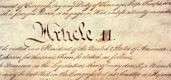 article ii of constitution