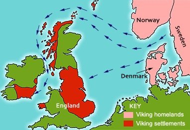 Map Of England 800.Timeline Of The Viking Age 800 1066 Ad Sutori