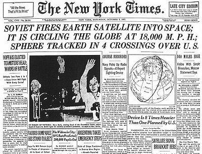 Sputnik Crisis This was a period of public fear in... | Sutori